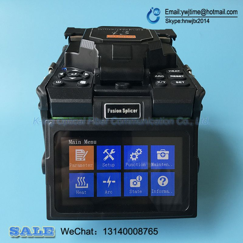 I3 Fusion splicer Automatic Intelligent Optical Fiber Fusion Splicer The quality is comparable to FSM-60S