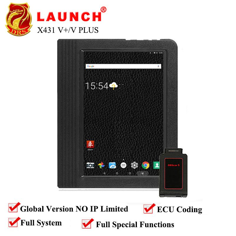 Original LAUNCH X431 V+/pro3 Global Version Full System Car Tool Auto Scan Tool Car Diagnostic Tool 2 Year Free Online Update