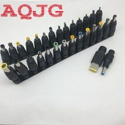 30pcs/Set Universal DC Power Supply Adapter Connector Plug DC conversion head DC jack For laptop Computer AQJG