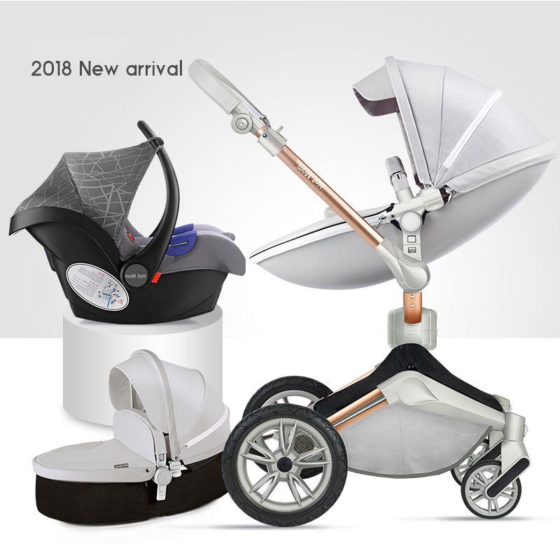 2018 neue heiße mama 360 grad drehen kinderwagen 2 in 1 kinderwagen 3 in 1 kinderwagen klapp neugeborenen kinderwagen