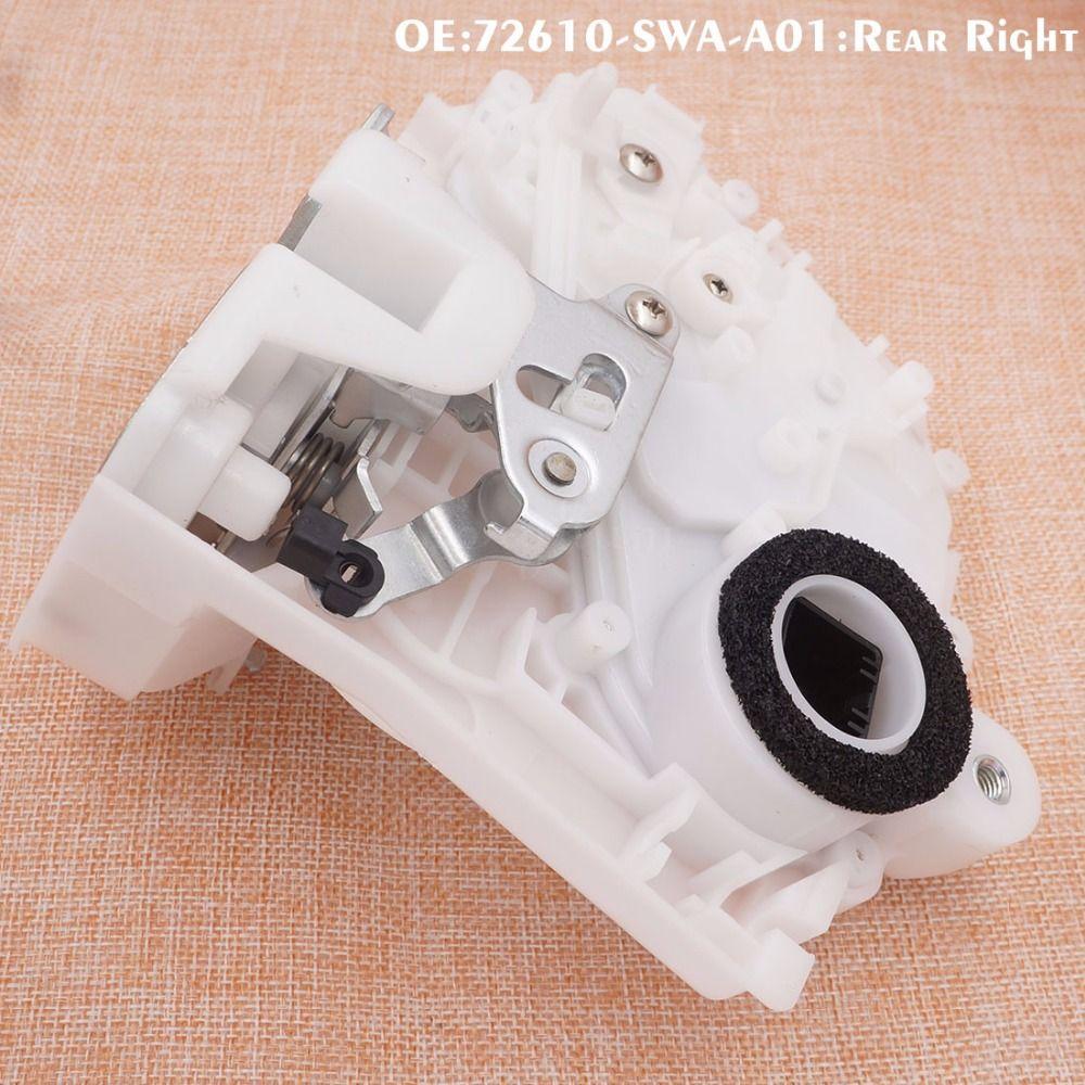 Новые передний задний левый и правый Дверные замки Привод для Honda CR-V 72110-SWA-A01 72150-SWA-A01 72610-SWA-A01 72650-SWA-A01