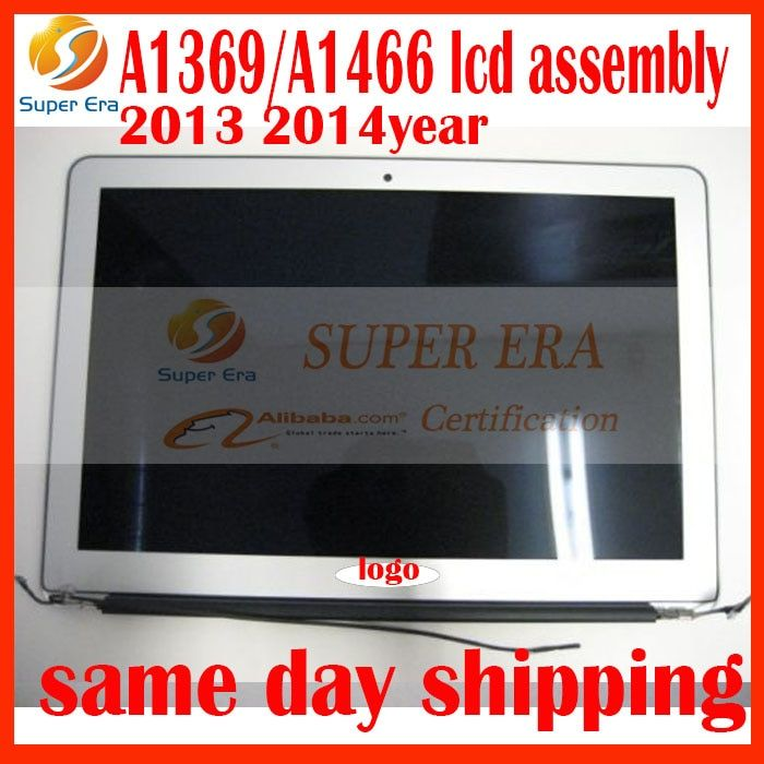 Original New 661-7475 Mid 2013 2014 2015 Full LCD SCREEN DISPLAY ASSEMBLY FOR Macbook Air 13'' A1369 A1466 LCD Screen assembly
