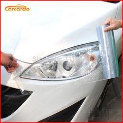 30 cm x 200 cm coche transparente trasera de la linterna del vinilo del tinte de cine Sticker-13 opción Color 2016 Nueva caliente envío libre
