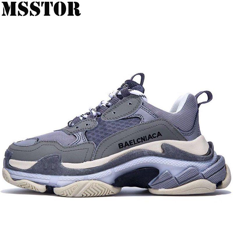 MSSTOR Retro Männer Laufende Schuhe der Frau Marke Sommer Atmungsaktives Mesh Frauen Sport Im Freien Sportlich Männer Turnschuhe Laufen 35 -45