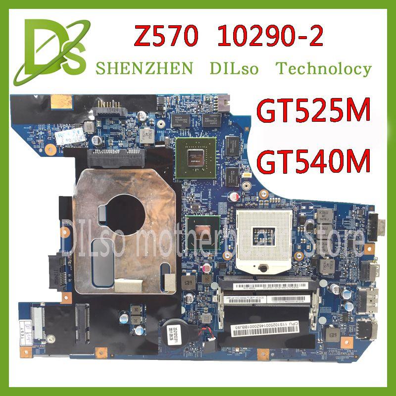 KEFU 10290-2 LZ57 MB original motherboard for Lenovo Z570 Laptop motherboard Z570 motherboard GT540M/GT525M Test