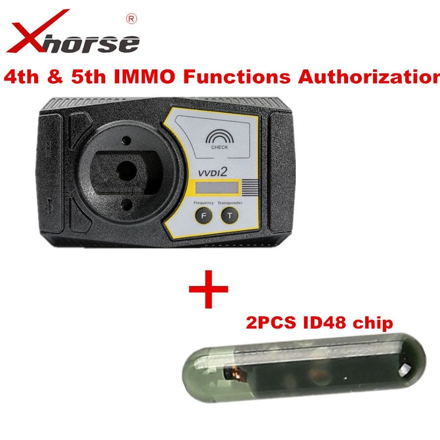 Xhorse VVDI2 Commander Key Programmer For Audi For V-W 4th & 5th IMMO Functions Authorization