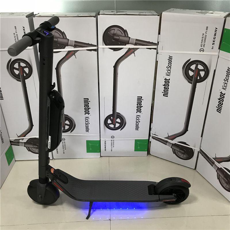 Original Ninebot KickScooter ES4 Smart Elektrische Roller 30 km/std Faltbare Longboard Bluetooth Verbindung Leichte Skate Bord