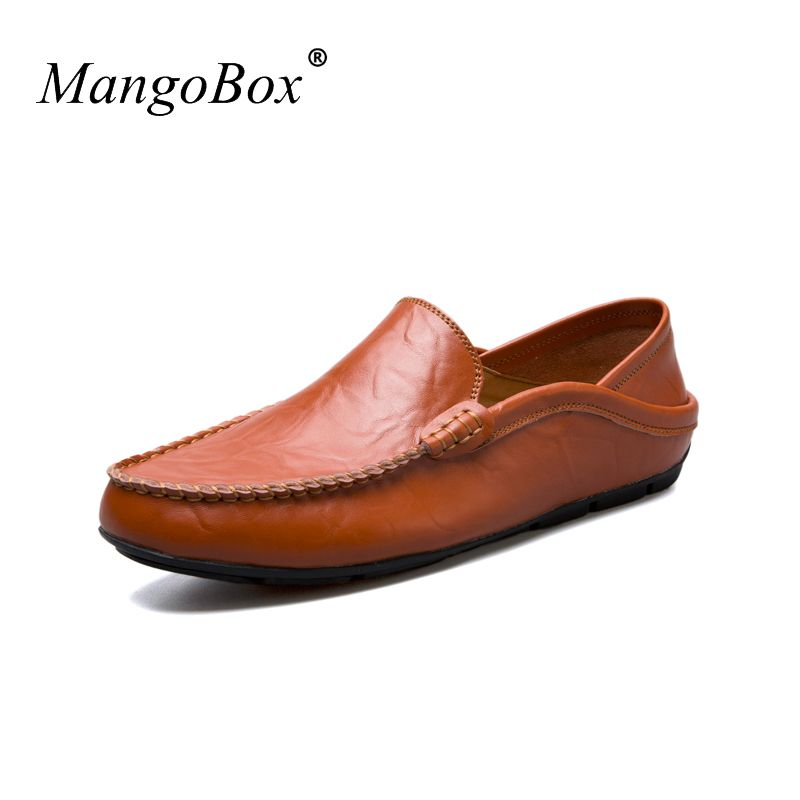 MangoBox Big Men Casual Shoes Size 37-47 Non-Slip Male Driving Sneakers Blue White Boys Footwear Spring Designer Youth Shoes