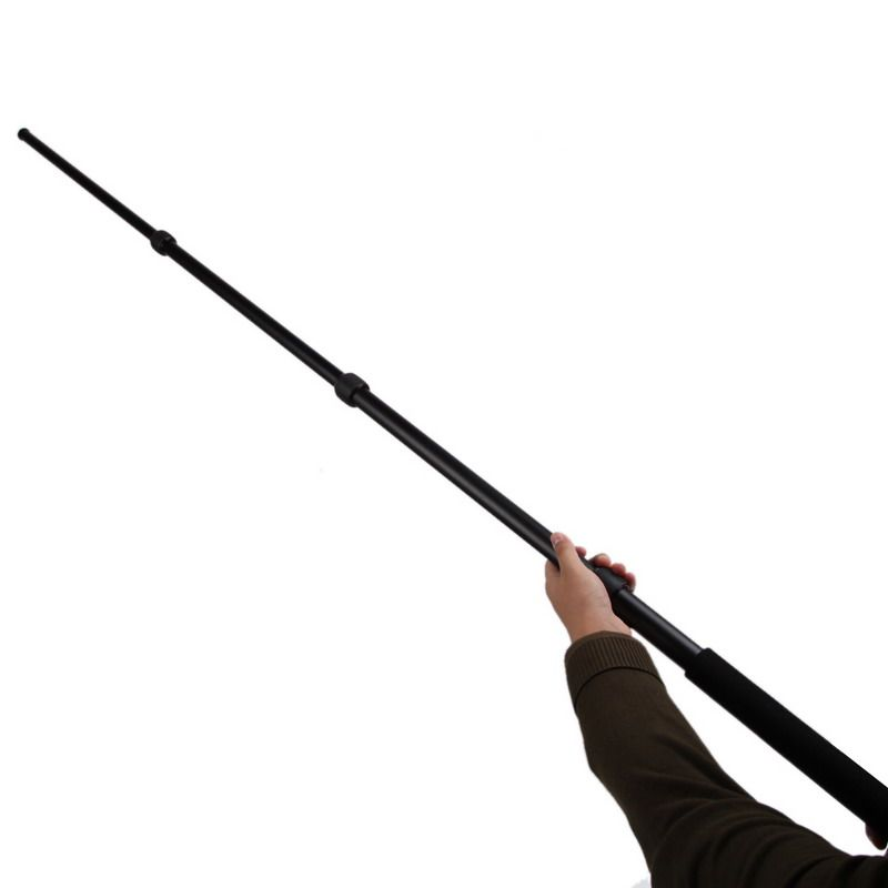 Micro Boom Pole Microphone Mic Holder 3 Section Boompole 67.5inch Extension