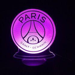 3D LED Lampe de Football Football Club 3D Coloré Night Lights avec USB Tactile Base Nouveauté Luminaria Drop Ship