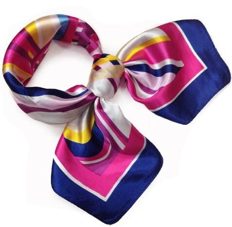 How <font><b>sell</b></font> 2018 BrandiS frans The new spring and summer printing small scarves occupation airline stewardess scarf