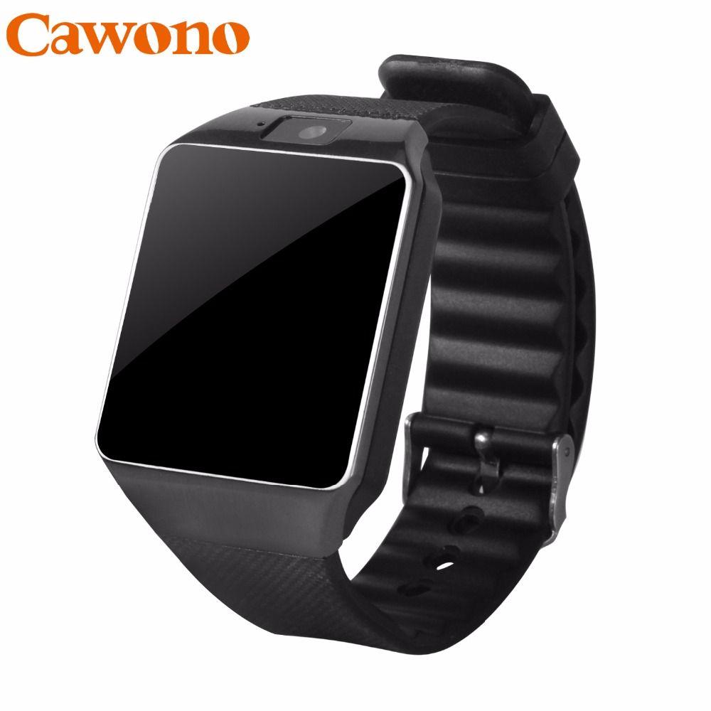 Cawono DZ09 <font><b>Smart</b></font> Watch Bluetooth Smartwatch Relogio TF SIM Card Camera for iPhone Samsung HTC LG HUAWEI Android Phone VS Q18 Y1