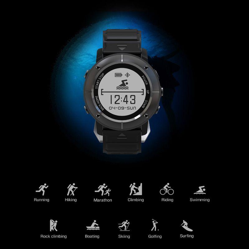 Smartelife Best Дешевые Спорт на открытом воздухе умные часы для Триатлон Бег Фитнес с GPS сердечного ритма Для женщин Для мужчин SmartWatch
