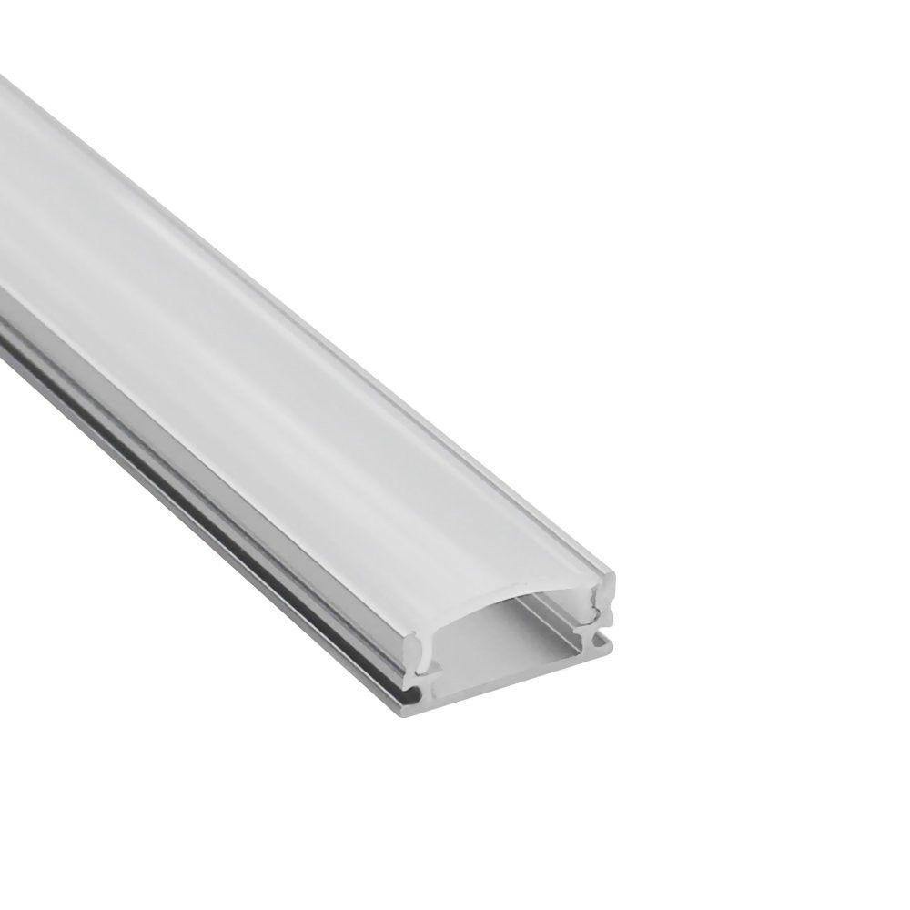 10pcs 1m led aluminum profile for 5050 5630 led rigid bar light 5730 2835 3528 led strip housing channel with cover end cap clip