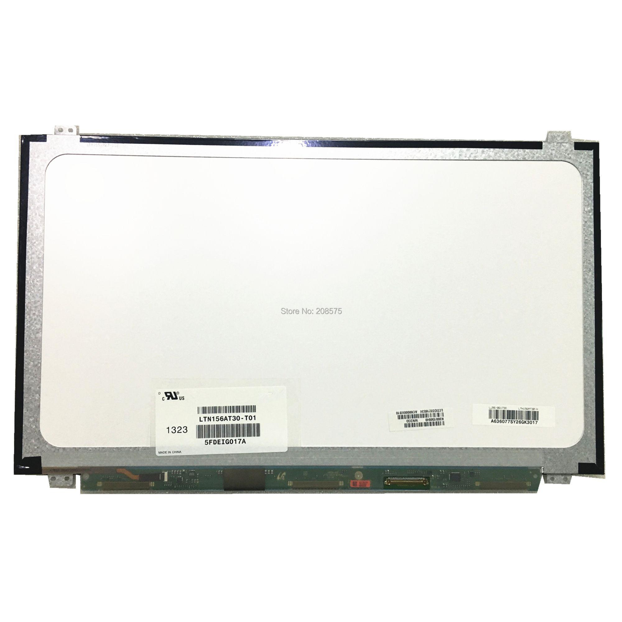 Freies Verschiffen LTN156AT30 T01 LTN156AT20 LTN156AT35 N156BGE-LB1 LP156WHB-TLA1 NT156WHM-N10 Laptop Lcd Screen 1366*768 LVDS 40pin