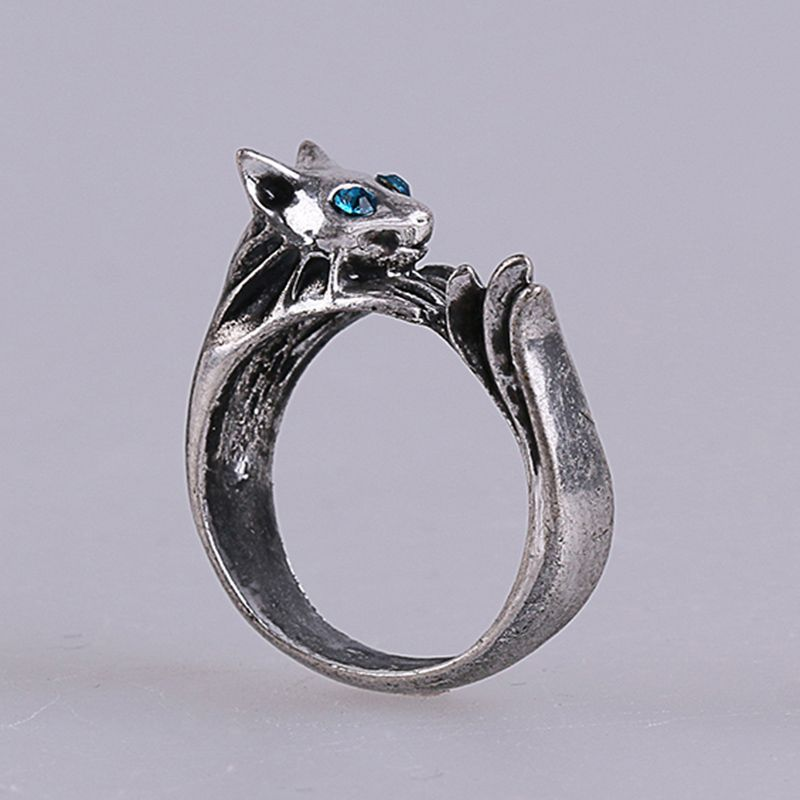 Dark Souls 3 Metal Rings Silver Cat Cosplay Ring Accessories Woman Man Ring High Quality