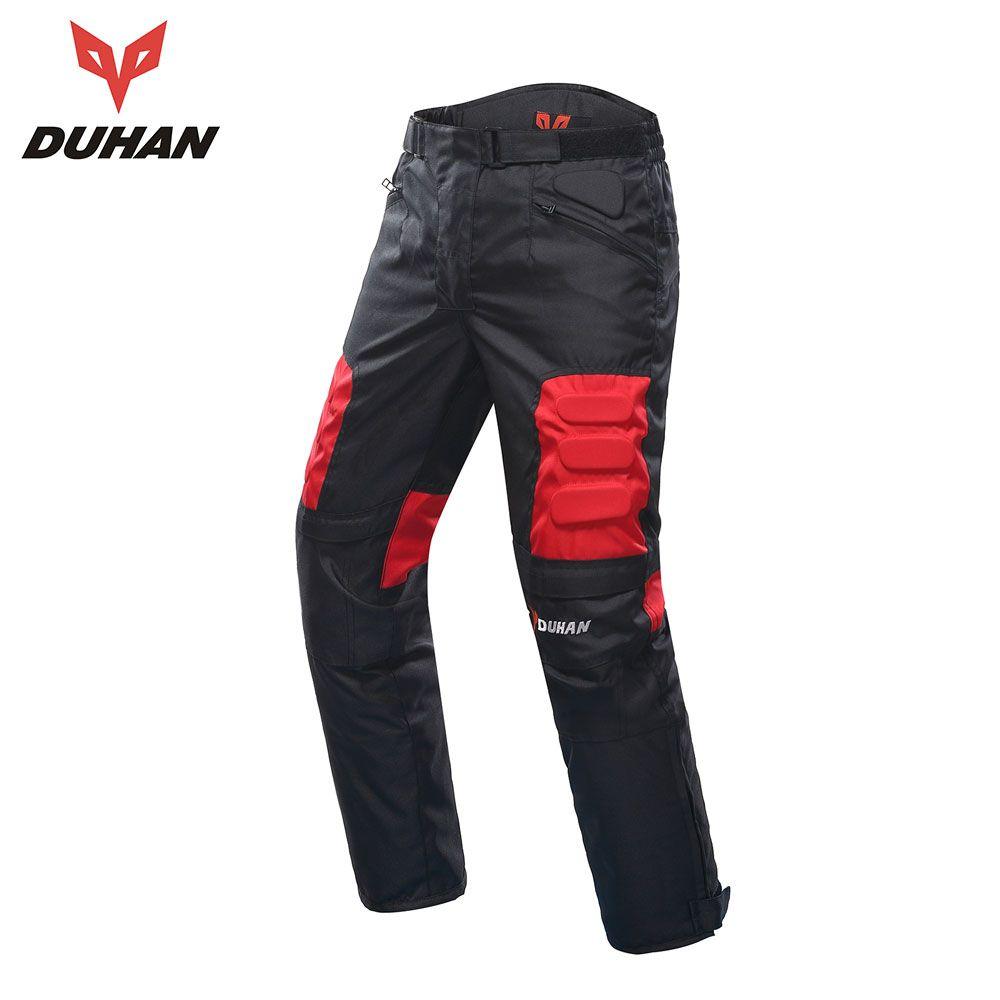 DUHAN Motorcycle Pants Men Moto <font><b>Motocross</b></font> Pants Enduro Riding Trousers <font><b>Motocross</b></font> Off-Road Racing Sports Knee Protective Trousers