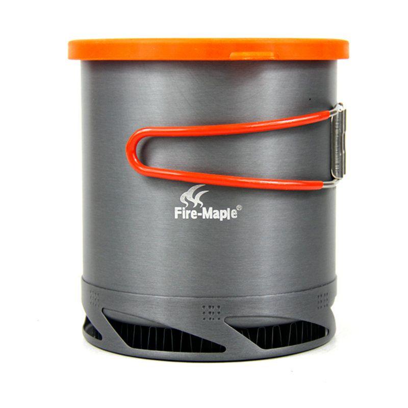 Feuer Maple FMC-XK6 Wärme Collectiing Verwendet Tauscher Tragbare Outdoor Kochtopf Kochgeschirr Geschirr Camping Picknick Wandern Ausrüstung