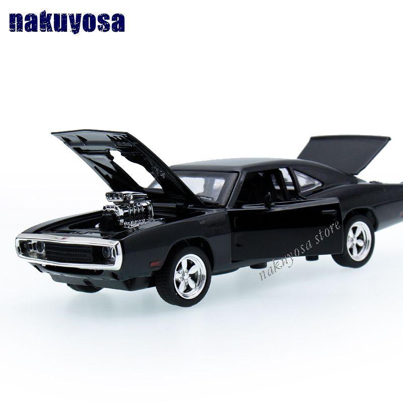 1:32 kids toys fast & furious 7 dodge charger metal toy cars modelo tire hacia atrás de coches miniaturas de regalos para los niños niños
