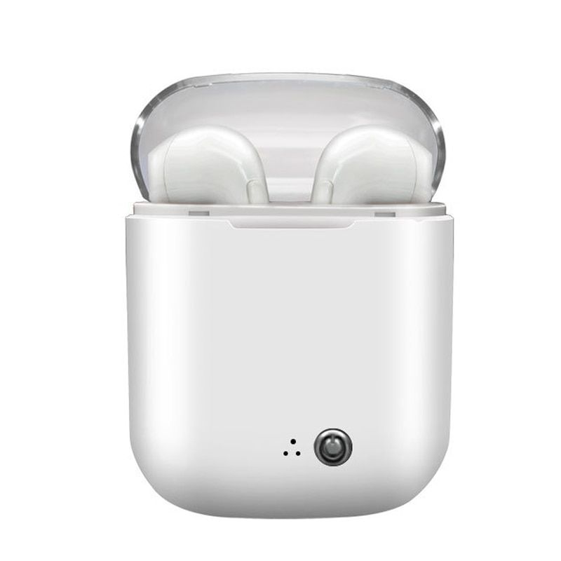 Ture I7s Plus Bluetooth Earbuds Air pods Wireless In-ear Mini Earphones Stereo With Charging Box Mic For All Smart phone Xiaomi