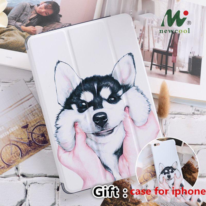 Mignon Chien Aimant Flip Couverture Pour iPad Pro 9.7