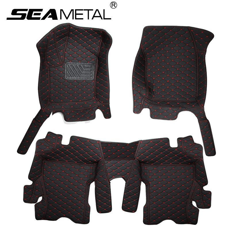 Car Floor Mats Rugs For LHD Ford Focus 2 3 4 2017 2016 2015 2014 2013 2012 2011 2010 2009 2008 2007 2006 2005 2004 In Auto Rug