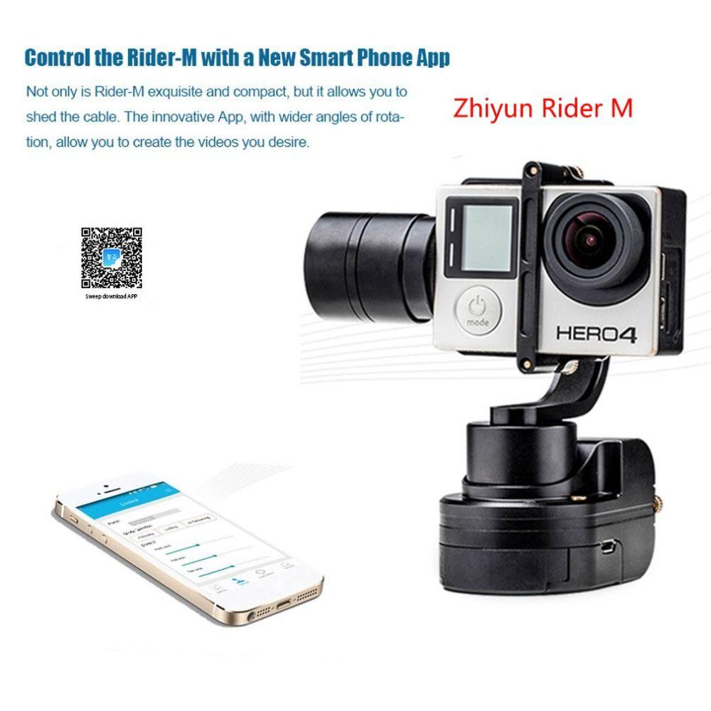 Zhiyun Rider M cardan portable pour gopro 4, Feiyu WG2X stabilisateur de cardan portable pour GoPro Hero7 6 5 4 YI 4 K SJCAM caméra d'action