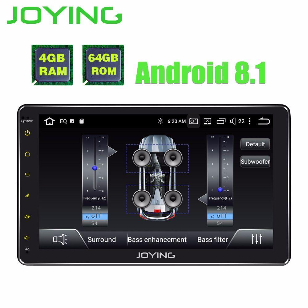 10,1 TDA7851 Einzigen 1Din Octa Core Android 8.1 Universal Auto Radio Stereo Kopf Einheit Multimedia Keine DVD Musik GPS-Player mit DSP