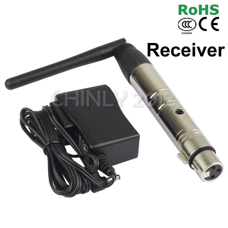 DMX512 Sans Fil Éclairage Contrôleur Récepteur 2.4G 300 m contrôle 3 ans de garantie