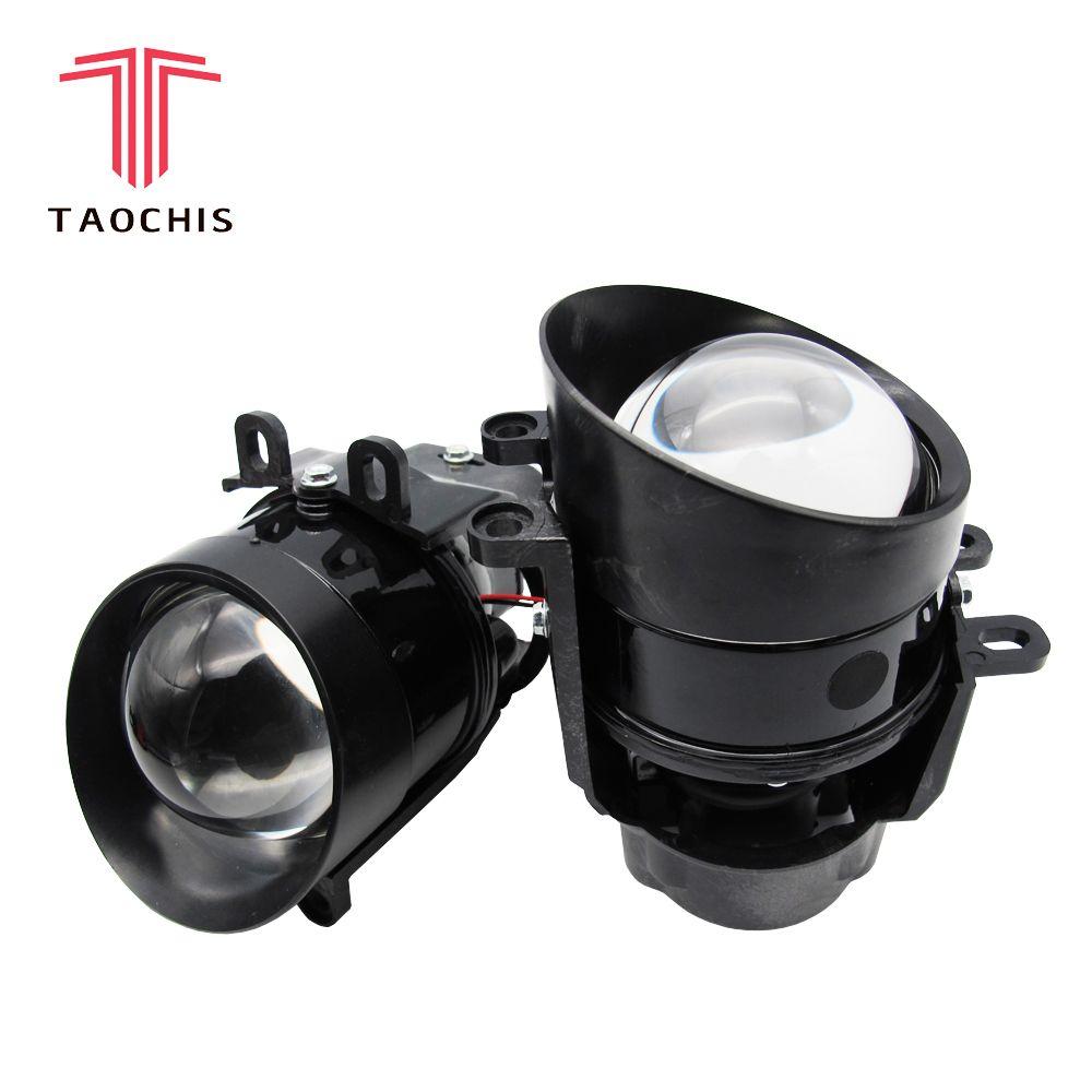 TAOCHIS Auto 3.0 inch HID Bi Xenon Projector lens Fog Light for Toyota Corolla Camry LEXUS VIOS PRIUS HIGHLANDER H11