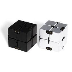 Infinity Cube Mini Mainan Jari Gelisah EDC Kecemasan Stres Lega Magic Cube Blok Dewasa Anak Anak Lucu Mainan Hadiah Terbaik