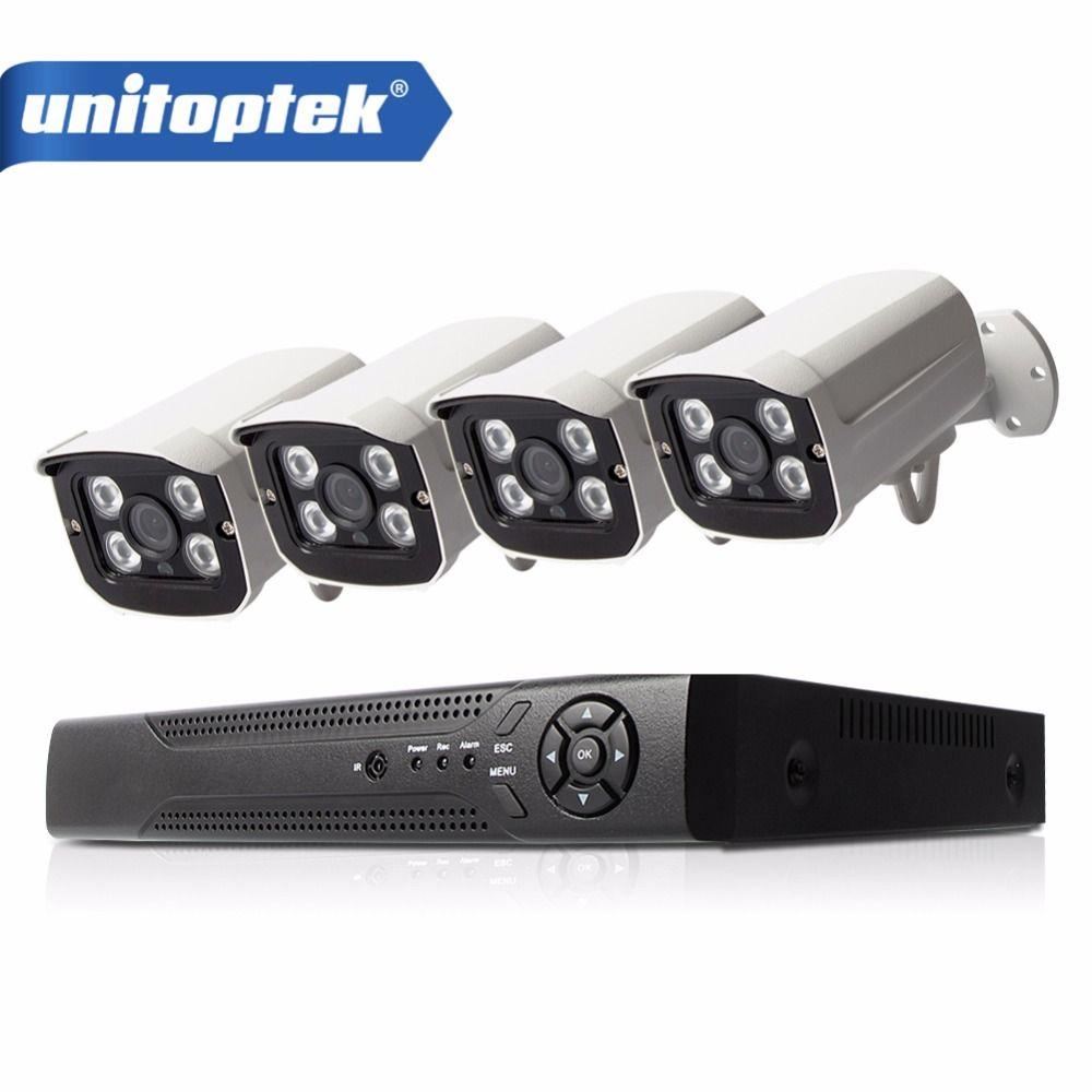 H.265 4CH 48V NVR POE CCTV System Kit 4MP 2592*1520 Indoor Outdoor Bullet POE IP Camera Security Surveillance Set App Viewing
