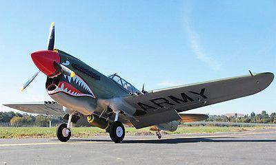 Huge Scale Skyflight 2M RC P40 Warhawk Propeller RC ARF PNP EPS Airplane Model W/ESC&Motor