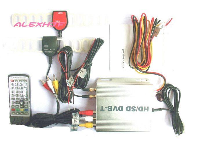 DVB-T Set Top Box (HD) CAR MOBILE TV Receiver DVB-T998B,dvb-t receiver MPEG4 HDMI Car TV tuner dvb-t tv receiver, fast shipping