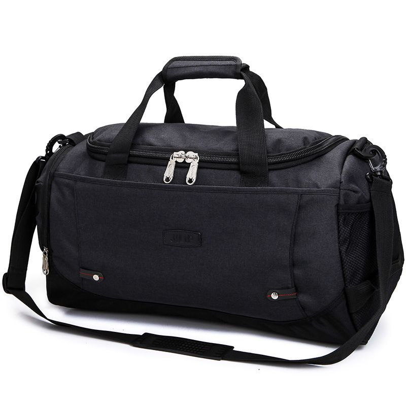 New Men nylon travel bag Large Capacity 2 in 1 carry on luggage duffle pack sport bag weekend bags women suitcase mala de viagem