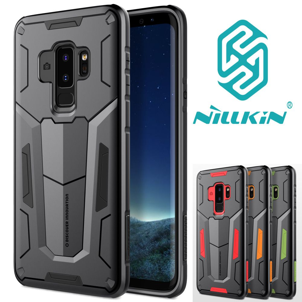 NILLKIN Defender Tough Shockproof Dual Layer Hybrid Hard Cover Armour Bag Case For Samsung Galaxy S9 S 9 Plus S8 S8+ 5.8