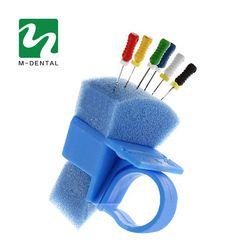 1 PC Saluran Akar Gigi Jari Jarum Penguasa Ukur Skala Endodontik Endo Instrumen Kotak Cincin Untuk Laboratorium Gigi Endo