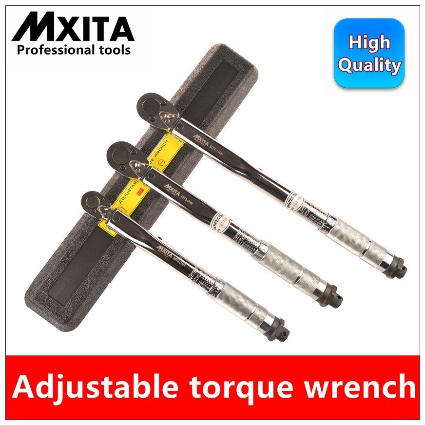 MXITA Adjustable Torque Wrench 1-6N 2-24N 5-25N 5-60N 20-110N 10-150N 28-210N Hand Spanner Wrench Tool car <font><b>Bicycle</b></font> repair tools