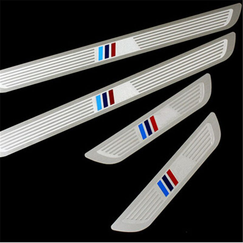 Car-styling Stainless Steel Pedal Door Sill Scuff Plate Case for BMW X1 E84 X3 F25 X5 E70 X6 E71 F10 F11 F30 F31 /1/3/5/7-Series