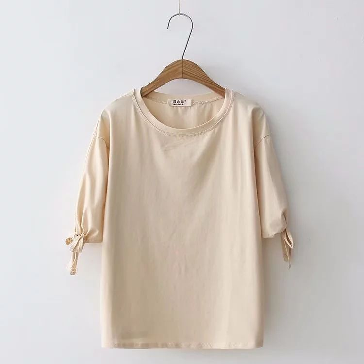 New summer top vintage ladies t shirt women tops womens clothing short woman clothes 2018
