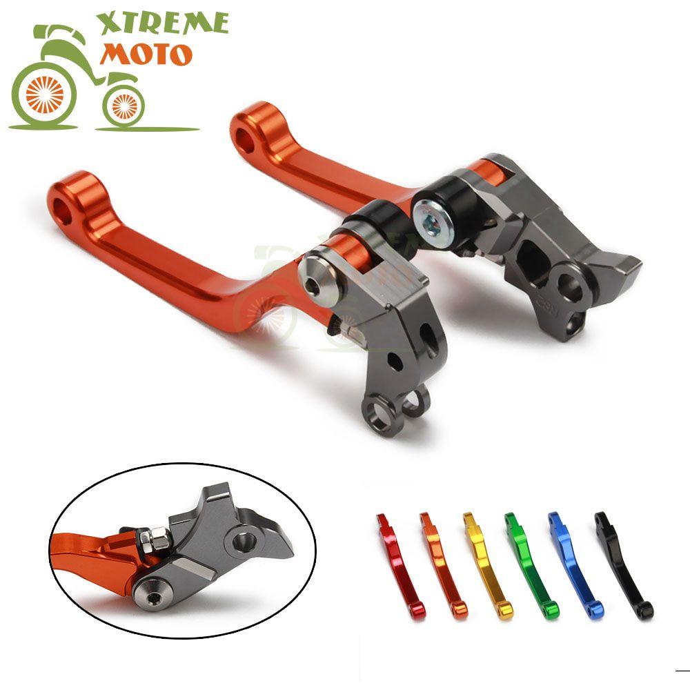 Motorcycle CNC Billet Pivot Foldable Brake Clutch Levers For KTM 65SX 65XC 2004-2011 04 05 06 07 08 09 10 11