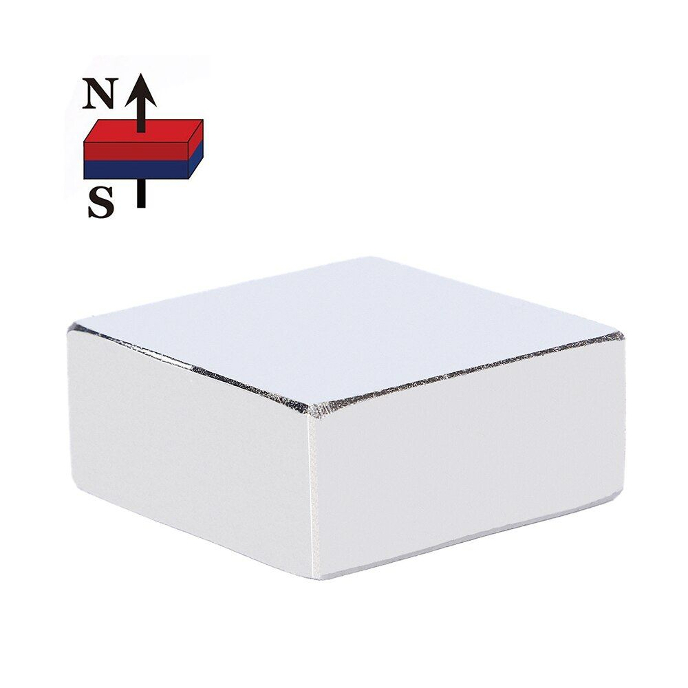 1PC 36mm x 36mm x 15mm Super Powerful Strong Rare Earth Block NdFeB Magnet 36*36*15 36x36x15 N52 Neodymium Magnet (36*36*16)