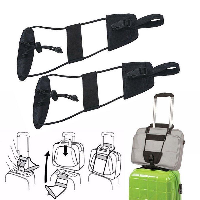Neue Hinzufügen, Eine Taschenriemen Gepäck Koffer Verstellbaren Gürtel Tragen auf Bungee Reise Zubehör Bolsa Großhandel