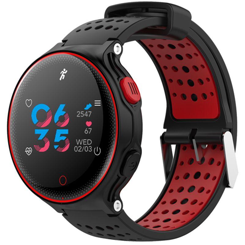 XR02 tension artérielle oxygène moniteur de fréquence cardiaque Bracelet intelligent étanche Bluetooth montre pour IOS Android Smartphones Pk Garmin