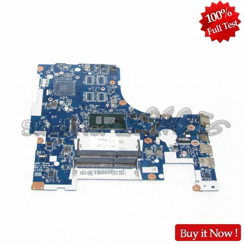 NOKOTION PC Main Board For Lenovo 300-17ISK Laptop Motherboard BMWD1 NM-A491 SR2EZ I7-6500U DDR3