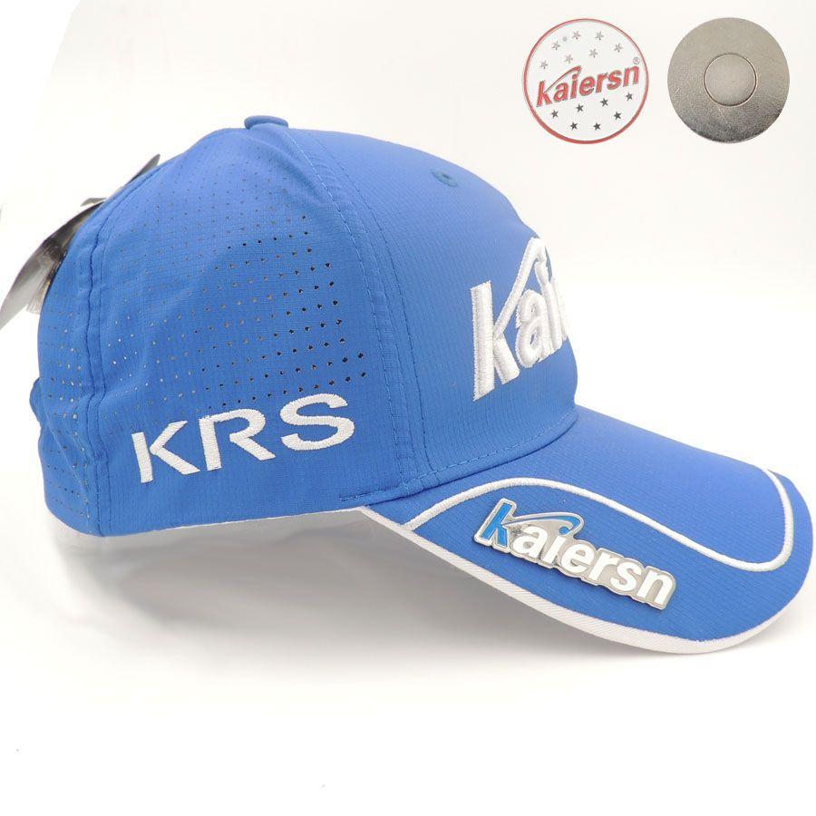 2017 Nuevo algodón sombrero gorra de golf Kaiersn golf Profesional alta Calidad deportes sombrero de golf transpirable deportes sombreros de golf con marca