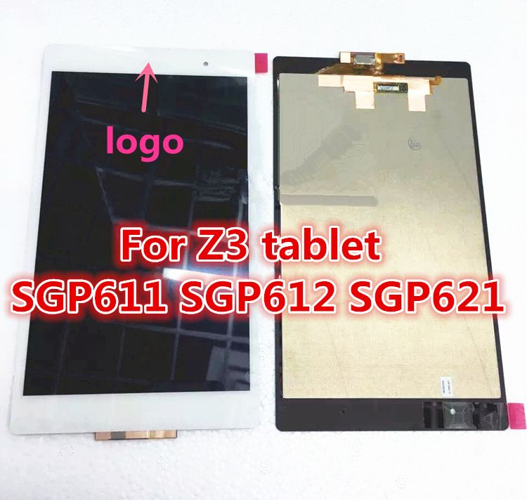 8.0 inch Original LCD Screen For Sony Xperia Tablet Z3 LCD display SGP611 SGP612 SGP621 assembly LCD screen Touch screen