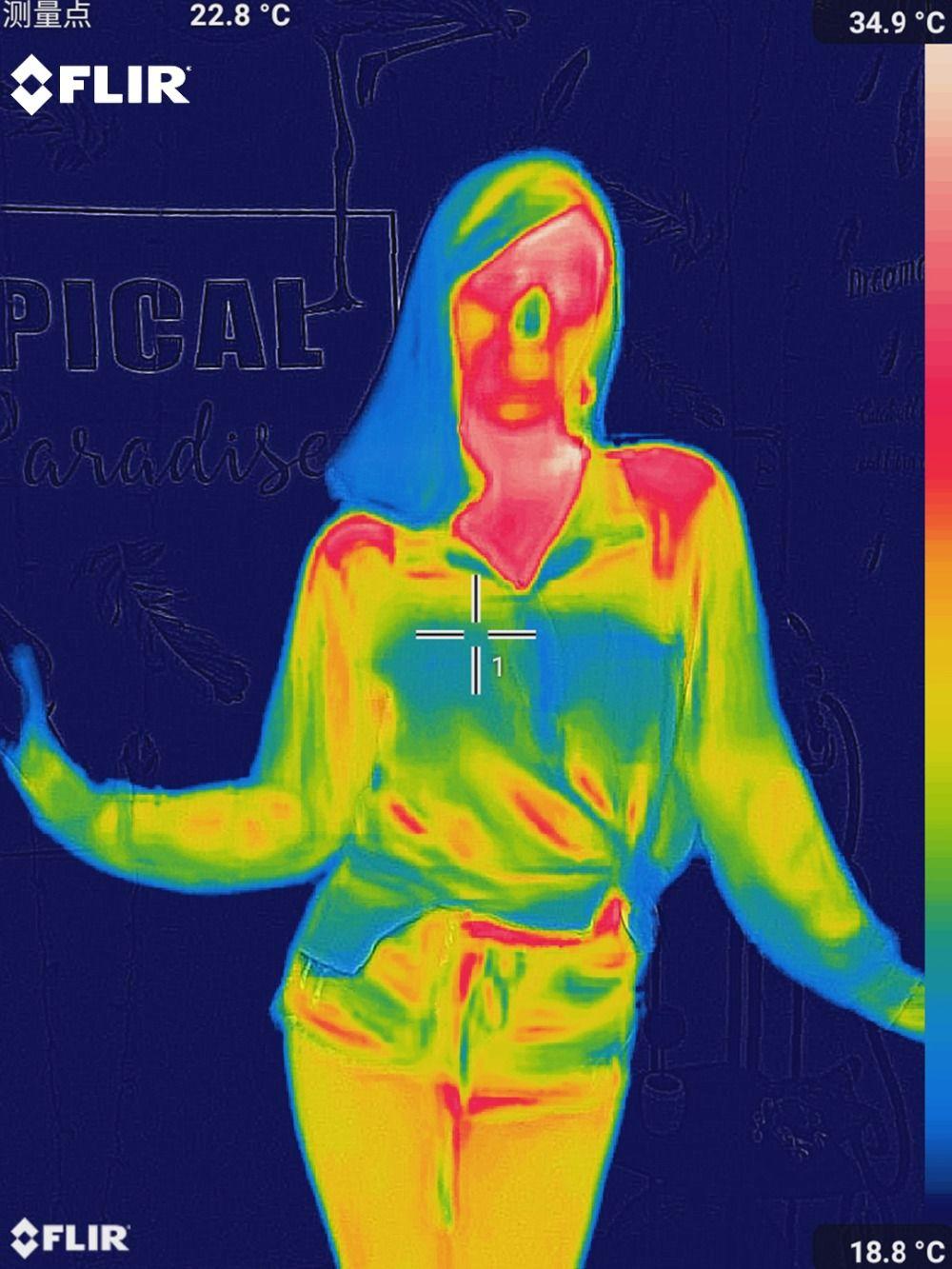 Thermische Imaging Kamera infrarot imager nachtsicht FLIR ONE PRO Verwenden für iphone ipad iOS oder Android