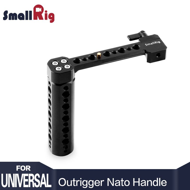 SmallRig Side NATO Handle for DSLR with NATO Rail and Clamp Attaches to Any NATO compatible devices - 1534
