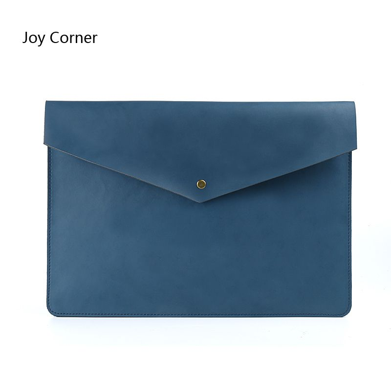 New Cow Leather Document Holder File Folder File HolderBag A4 Folders For Documents Document Handbag Pasta De Couro Briefcase